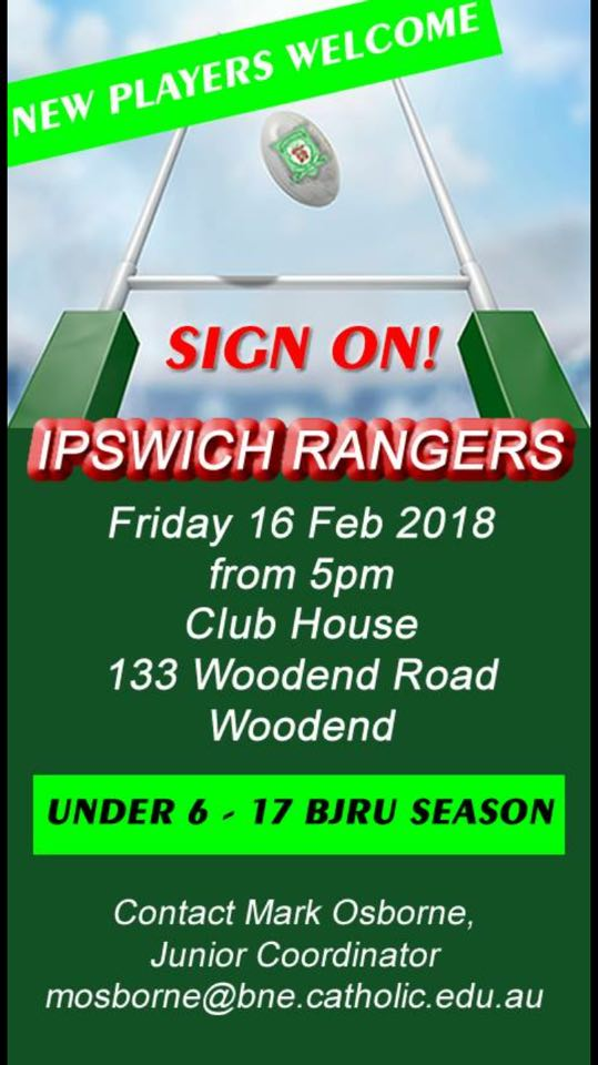 sign on jnrs 2018 rangers